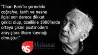 Şair Aziz Kemal Hızıroğlu, İlhan Berk Şiirini Yazdı