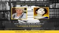 """Ece Aksoy ve Aslı Perker ile """"Tabakta Edebiyat"""""""