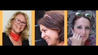Yazarlar Üsküdar'da Kitaplarını İmzalıyor