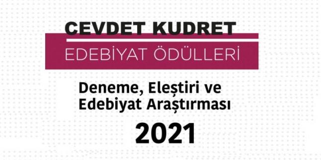 2021 Cevdet Kudret Edebiyat Ödülü…