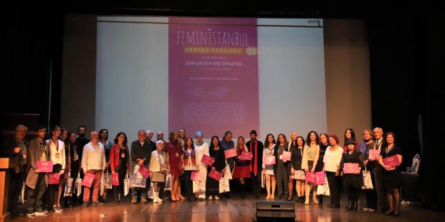 İstanbul'da Feministanbul Rüzgarı Esti…