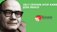 Ceyhun Atuf Kansu Şiir Ödülü Sonuçları Açıklandı