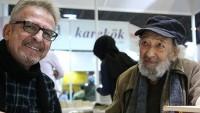 Cem Sertesen ve Ara Güler CNR 5. Uluslararası Kitap Fuarı'nda