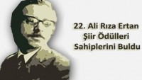 22. Ali Rıza Ertan Şiir Ödülü Sonuçlandı