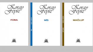 Koray Feyiz'den Üç Şiir Kitabı…