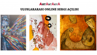 ArtAntAkyA Uluslararası Online Sergi Açılışı…
