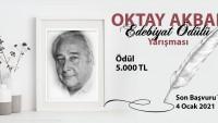 Oktay Akbal Edebiyat Ödülü…
