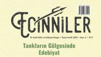 Ecinniler Kültür ve Edebiyat Dergisinin 6. Sayısı Yayımlandı…